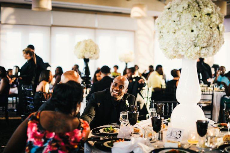 Wedding Reception at Proximity Hotel, Greensboro NC