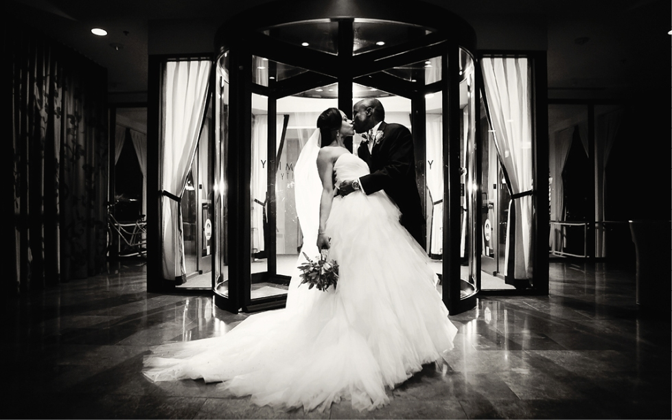 Wedding at Proximity Hotel in Greensboro, NC
